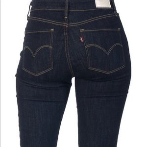 Levi's High Rise Skinny Jeans Stetch Fit